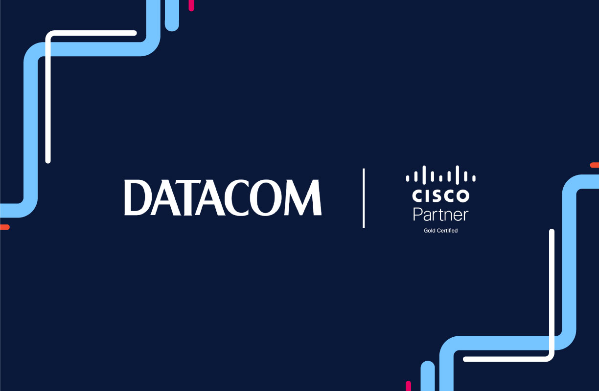 Datacom and Cisco partner logos