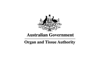 Organ and Tissue Authority logo